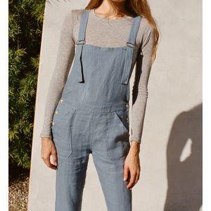 022948f9a36 lily ashwell Jeans - Lily Ashwell Dark Denim Jo Dungaree